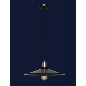 Светильники лофт 752PB9F4-1 BK(400)