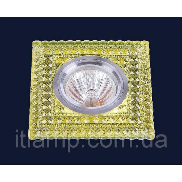 Квадрат с желтыми кристаллами Levistella 705A83