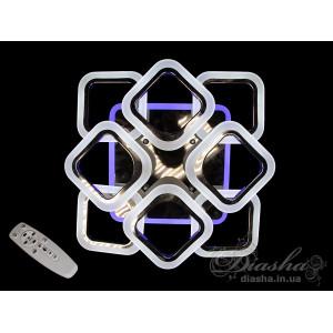 LED люстры AS8060/4+4BHR LED 3color dimmer