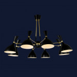 Светильники лофт 756LPR1024-8 BK