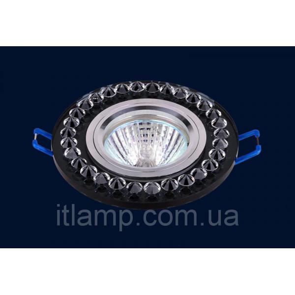 Врезной светильник со стеклом 716028
