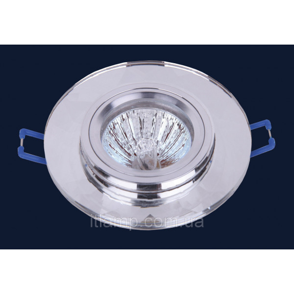 Врезной светильник со стеклом 705086