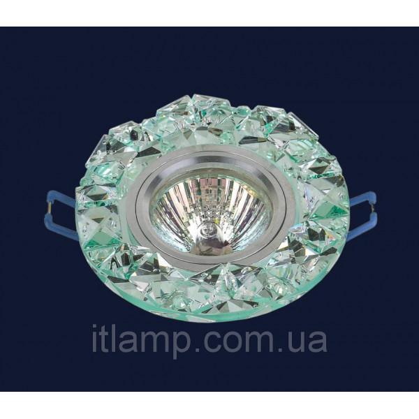 Врезной светильник со стеклом 716146