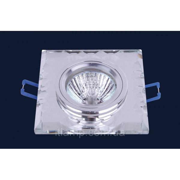 Врезной светильник со стеклом 705136
