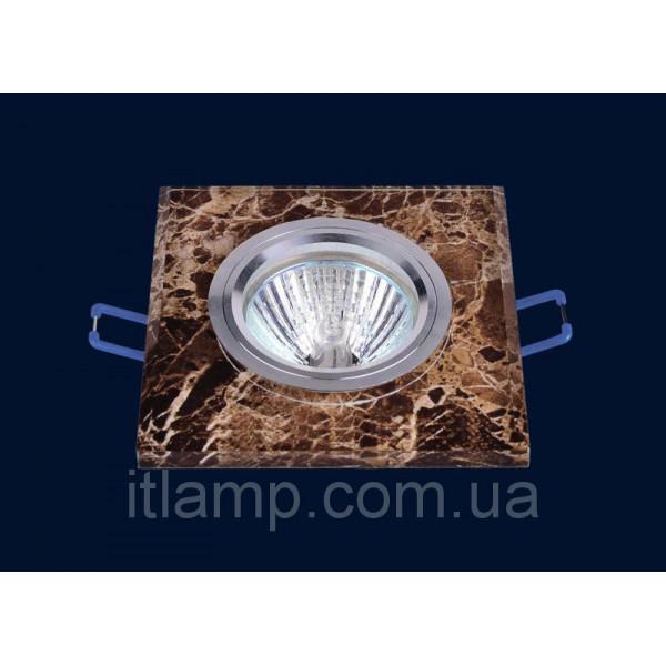 Врезной светильник со стеклом Levistella 705529