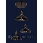 Ретро лофт лампа 7526857-3 BK