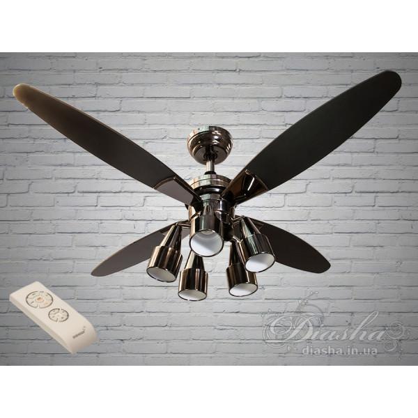 Люстры вентиляторы с пультом Diasha VM248801/48