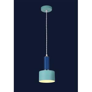 Лофт люстры LST 7529517-1 BLUE-INDIGO