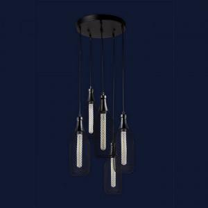 Люстры светильники Levistella 907003F-5 BK (300)