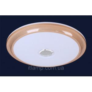 LED люстра потолочная c музыкальной колонкой 762HS002_led36+36