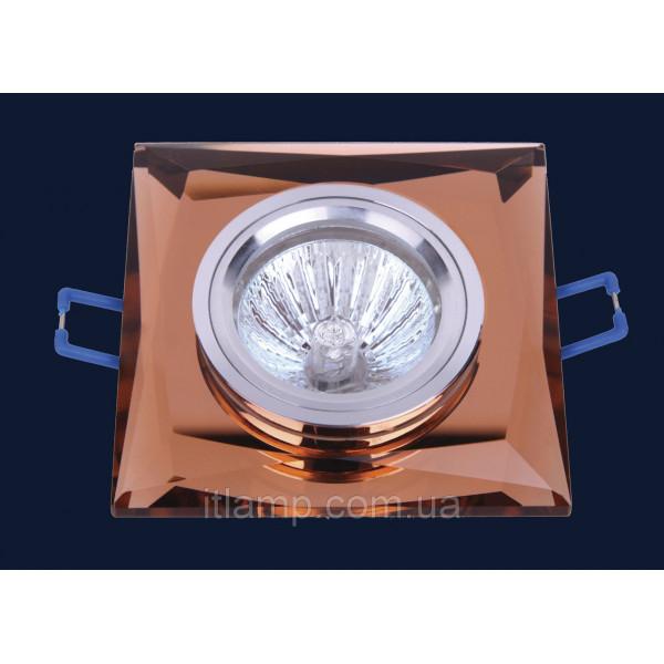 Врезной светильник со стеклом 705129