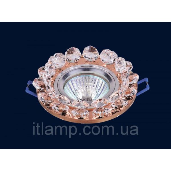 Врезной светильник со стеклом 716049