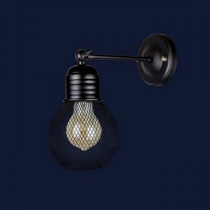 Светильники бра в стиле лофт 907W004F-1 BK