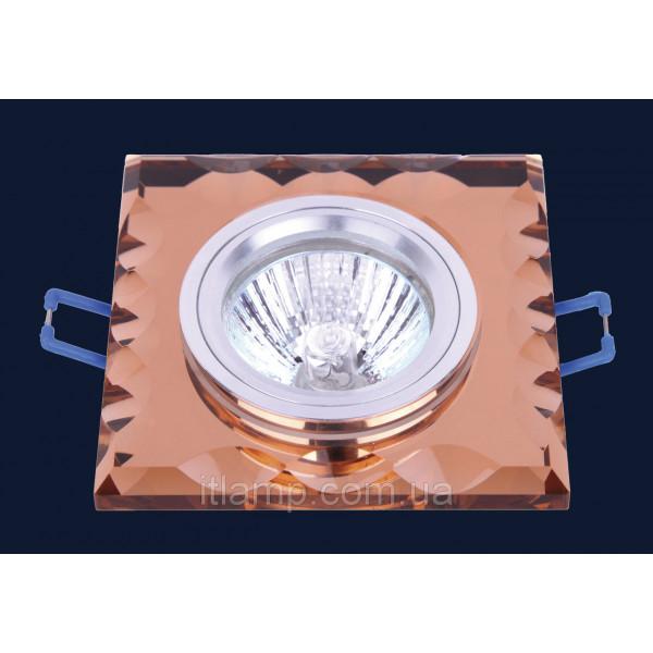 Врезной светильник со стеклом 705139