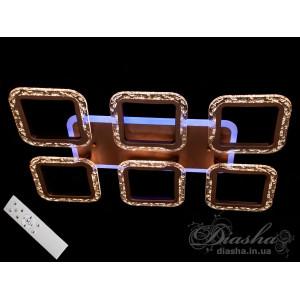 Cветодиодная люстра Diasha QX2517/6S CF LED 3color dimmer