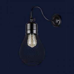 Светильники бра в стиле лофт 907W007F3-1 BK