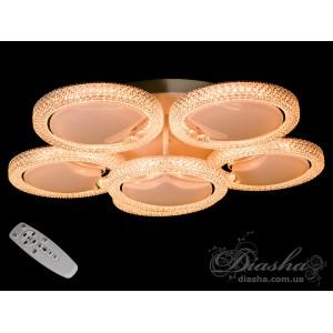 Светодиодные люстры с пультом Diasha MX2347/5+1dimmer
