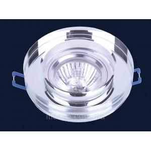 Врезной светильник со стеклом 705186