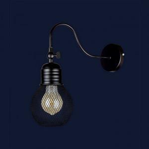 Светильники бра в стиле лофт 907W004F3-1 BK