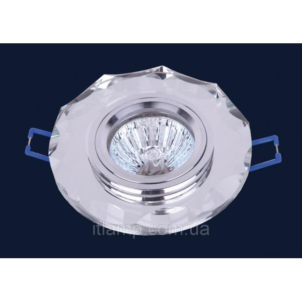 Врезной светильник со стеклом 705066