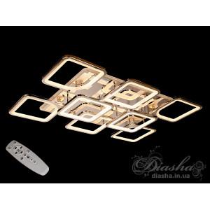 LED люстры 8060/6+2HR LED 3color dimmer
