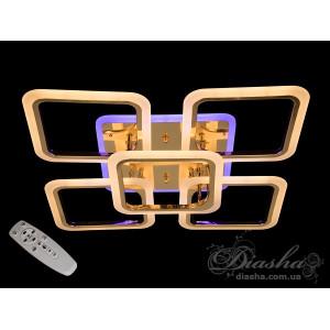 LED люстры Diasha A8060/4+1G LED 3color dimmer