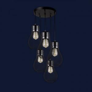 Люстры светильники Levistella 907007F-5 BK (300)