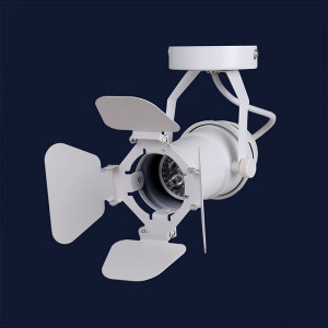 Люстра - прожектор в стиле лофт Levistella 75228 WH