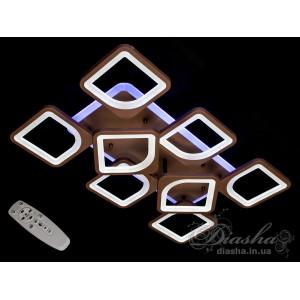Cветодиодная люстра Diasha S8060/6+2CF LED 3color dimmer