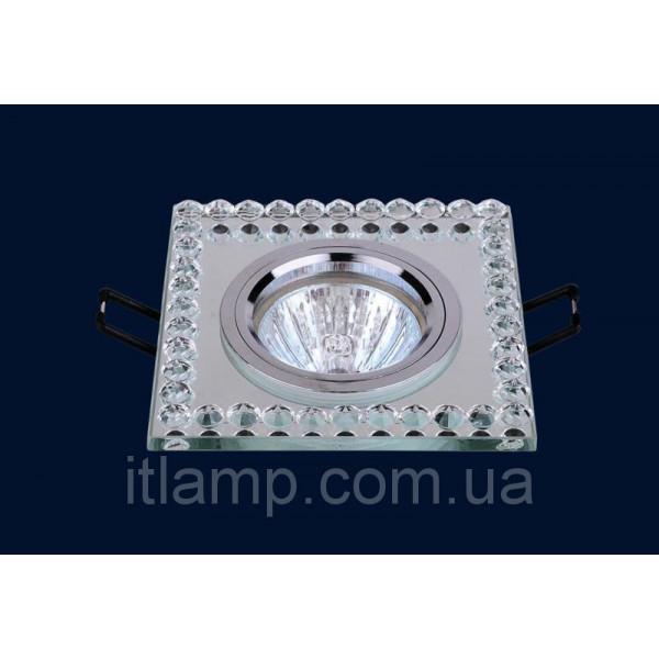 Врезной светильник со стеклом Levistella 716036