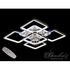 LED люстры 8060/4+1HR LED 3color dimmer
