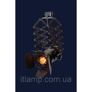 Универсальный светильник прожектор 75214 BK (трек)