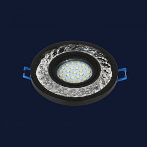 Точечный светильник 716MKD-C21 BK  (LED лента в комплекте)
