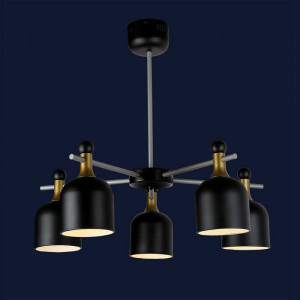 Loft светильник 756LPR1026-5 BK
