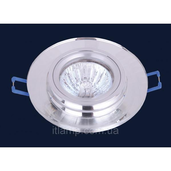 Врезной светильник со стеклом 705036