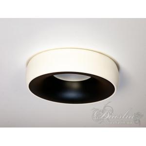 Точечный светильник 18WH-BK