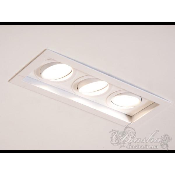 Точечный светильник Diasha 136H-3-WH