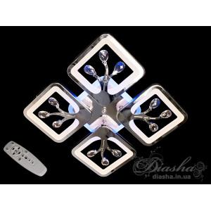 Cветодиодная люстра Diasha S8157/4HR LED 3color dimmer