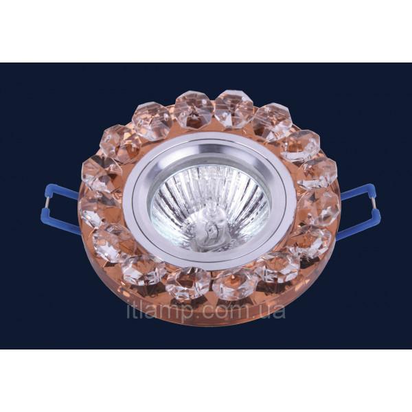 Врезной светильник со стеклом 705209