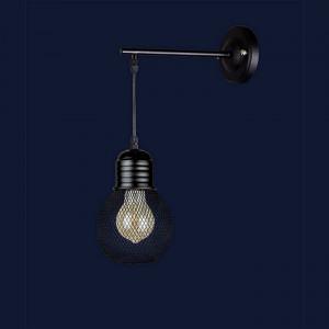 Светильники бра в стиле лофт 907W004F2-1 BK