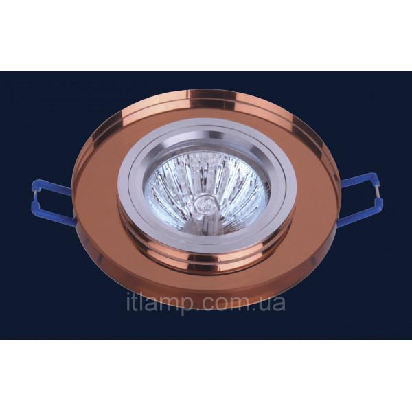 Врезной светильник со стеклом 705019