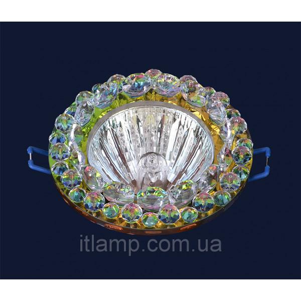 Врезной светильник со стеклом 716211