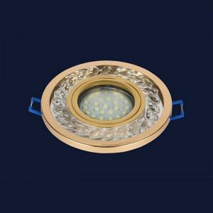 Точечный светильник 716MKD-C21 GD  (LED лента в комплекте)