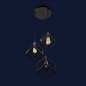 Люстры светильники 756PR161F-3 BK (300)