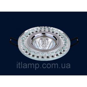 Врезной светильник со стеклом 716026