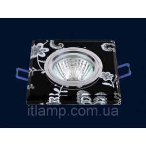 Врезной светильник со стеклом 705598