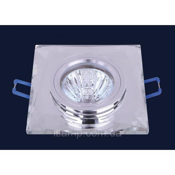 Врезной светильник со стеклом 705126