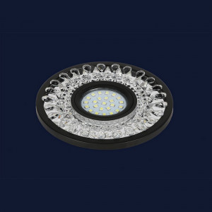 Точечный светильник 716MKD-C22 BK  (LED лента в комплекте)