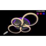 Светодиодные люстры Linisoln 1888-4 Color LED