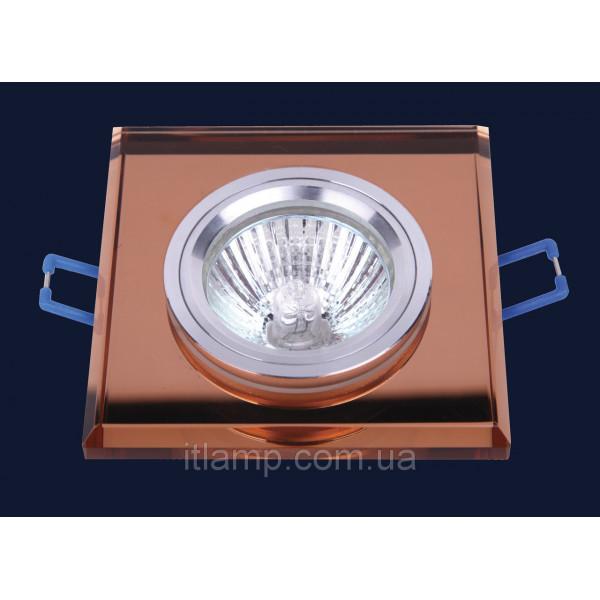 Врезной светильник со стеклом 705119